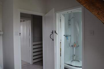 The en suite shower-room for bedroom 3.