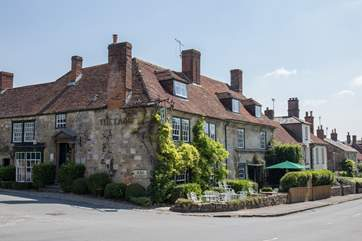 The Lamb Inn is one of two good pubs in the village.
