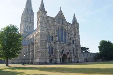 The Cathedral City of Salisbury is well worth a visit.