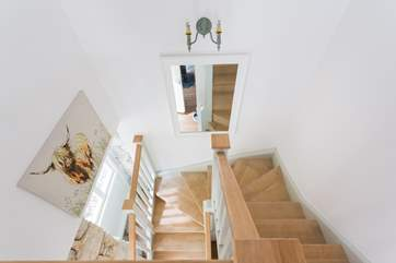 The stables have been cleverly designed to maximise space and light.