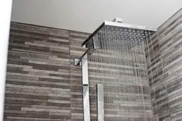 The modern shower.