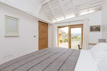 Fabulous views from every room in this stylishly renovated cottage.