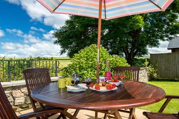 Why not enjoy a delicious cream tea in the garden?