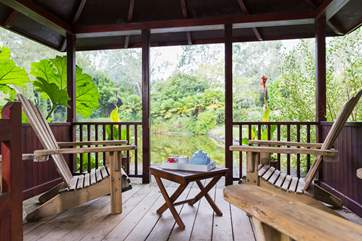 A lovely place to relax with your morning coffee.