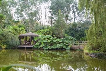 The waterside pergoda.