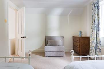 Bedroom 3 has a memory foam chair bed to accommodate an extra child at a small extra cost (please ask when booking).
