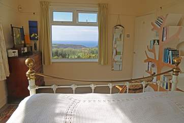 Wake up to a great view of the sea and surrounding countryside.