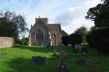 Lullington's 11th century church is right to Church Farm, at the heart of this beautiful hamlet