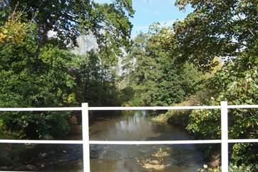 There are some lovely riverside footpaths in the area, you will find information on local walks in the cottage information folder.
