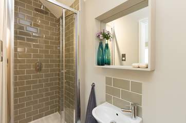 The en suite shower-room has a walk-in shower.