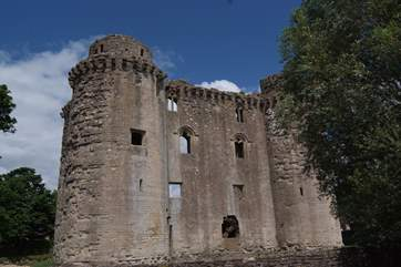 Nunney Castle is just the other side of Frome - have a stroll around this moated piece of ancient history.