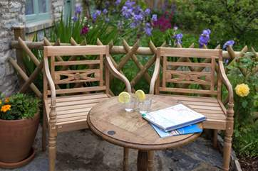 Sitting outside in the front garden, taking in gentle village life, is a real treat. There is a lovely fully enclosed rear garden too - again, photos will follow soon.