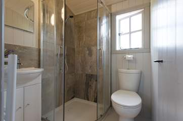 The modern shower-room.