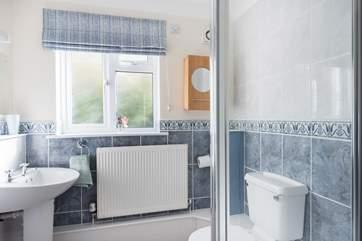 The ground floor en suite shower-room to bedroom 1.