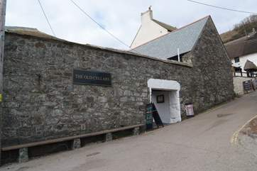 The Old Cellars Restaurant in the heart of Cadgwith.