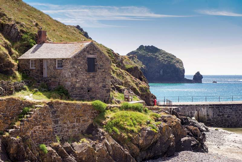 Pretty Mullion Cove Harbour will capture your heart.