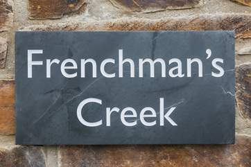 Welcome to Frenchman's Creek.