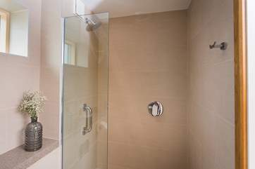 The en suite shower-room for the master bedroom.