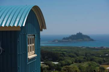 With spectacular St Michael's Mount as your focal point.