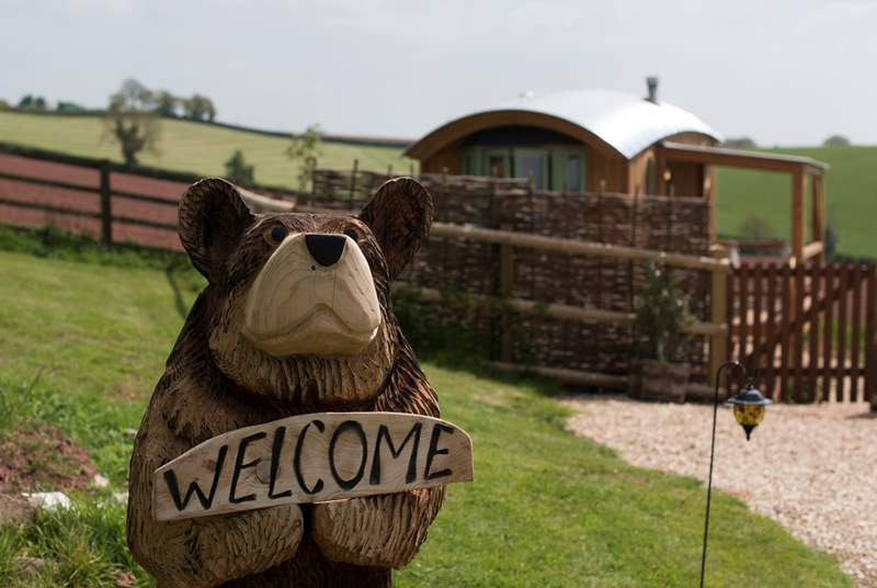 You are greeted with a warm welcome here!