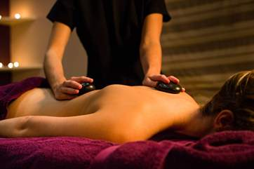Why not book a treatment at the spa before you arrive....a relaxing massage perhaps?