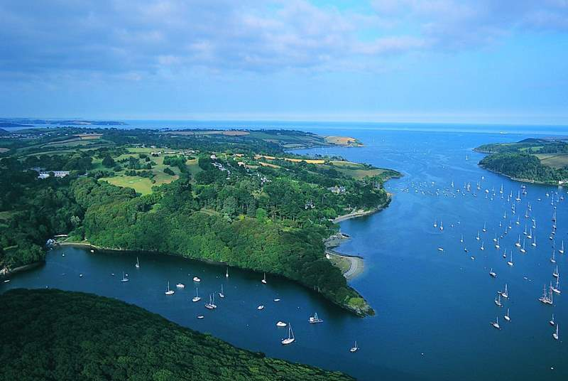 The Helford River is a truly beautiful part of Cornwall.