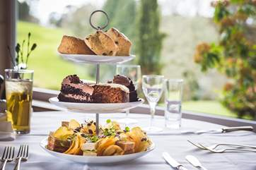 Head over to the hotel for any meal, perhaps sample their tasty afternoon tea.