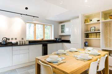 The open-plan kitchen, breakfast, lunch or dinner or maybe book a table in the restaurant tonight?
