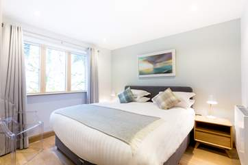 All of the bedrooms have 6ft double beds which can also be made up as 3ft single beds on request.