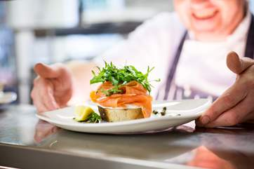 Why not book a table in the hotel's AA Rosette Awarded restaurant, delicious food and first class service on your doorstep.