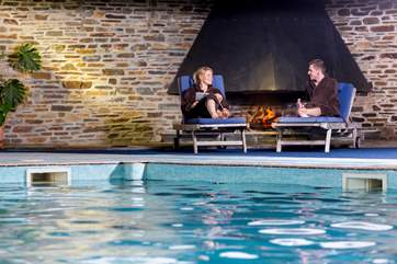 Spend some time in the spa or sitting by the swimming pool, towels and robes can be hired from reception.