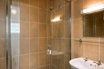 The stylish en suite shower-room in Bedroom 2.