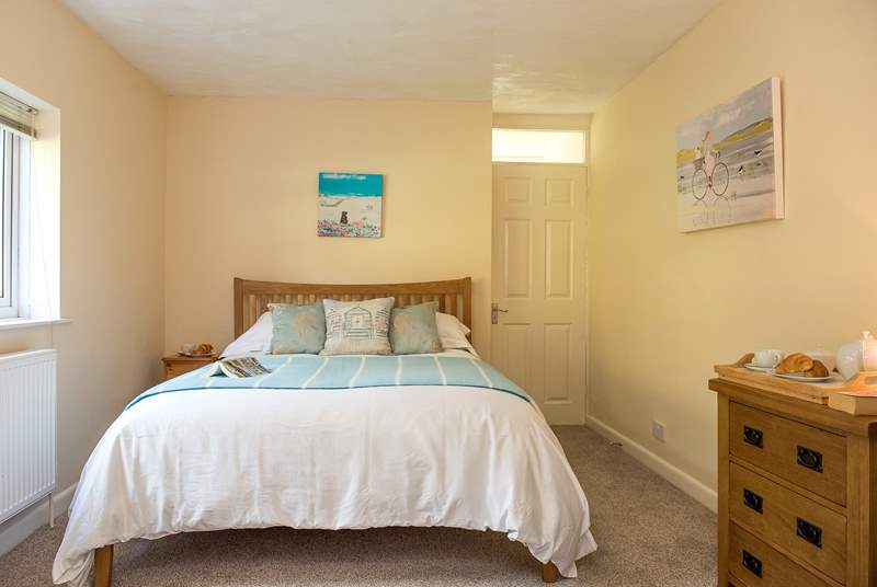 Each bedroom is individually furnished with lovely crisp white linen and fluffy white towels.