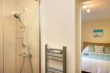 The en suite shower-room in Bedroom 1.