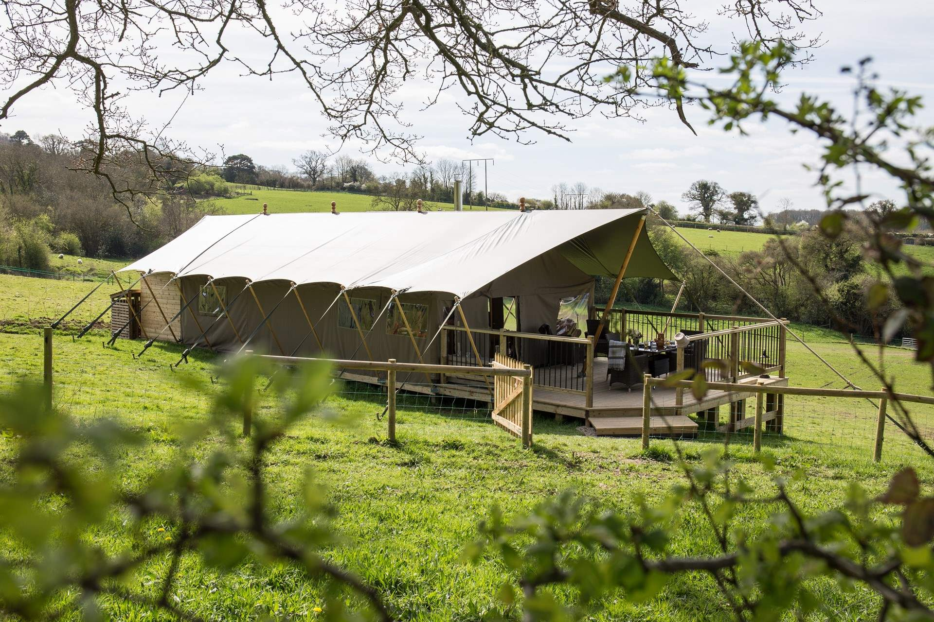 Gl&ing in style your luxury safari tents awaits you. & Murciano Safari Tent Holiday Cottage Description - Classic Cottages
