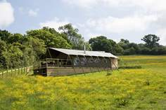 Gascon Safari Tent - Holiday Cottage - 1.4 miles N of Shaftesbury