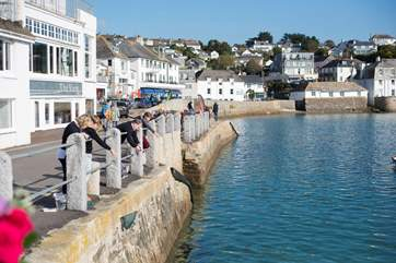 St Mawes is a lovely little town.