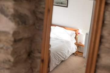 Lovely bed linens.