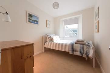 Bedroom 4 has a single bed.