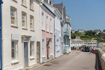 The pretty seafront in St Mawes.