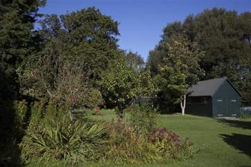 Who wouldn't want to spend some time relaxing amongst the foliage in the garden.