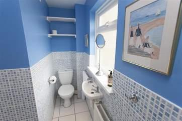 Shower room, first floor.