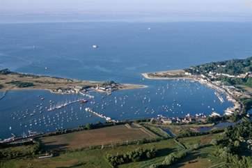 Bembridge Harbour.