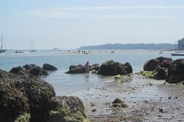 Seagrove Bay beach.