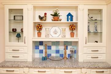 The sideboard is a lovely addition to the kitchen.