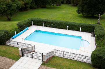 You're sure to enjoy the shared swimming pool on the grounds of the property.