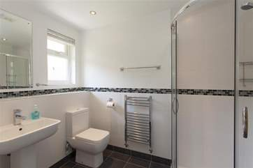 En suite shower room.