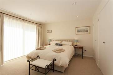 Second of the double rooms on offer.
