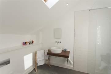 Luxury en suite shower room.