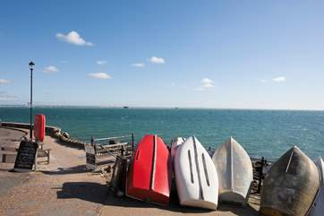 Over looking the Solent, Seaview is an old fishing town which has now become a popular holiday destination for its quiet and calm atmosphere.
